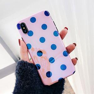 NEW iPhone X/78+ Shining BIG DOT Phone case